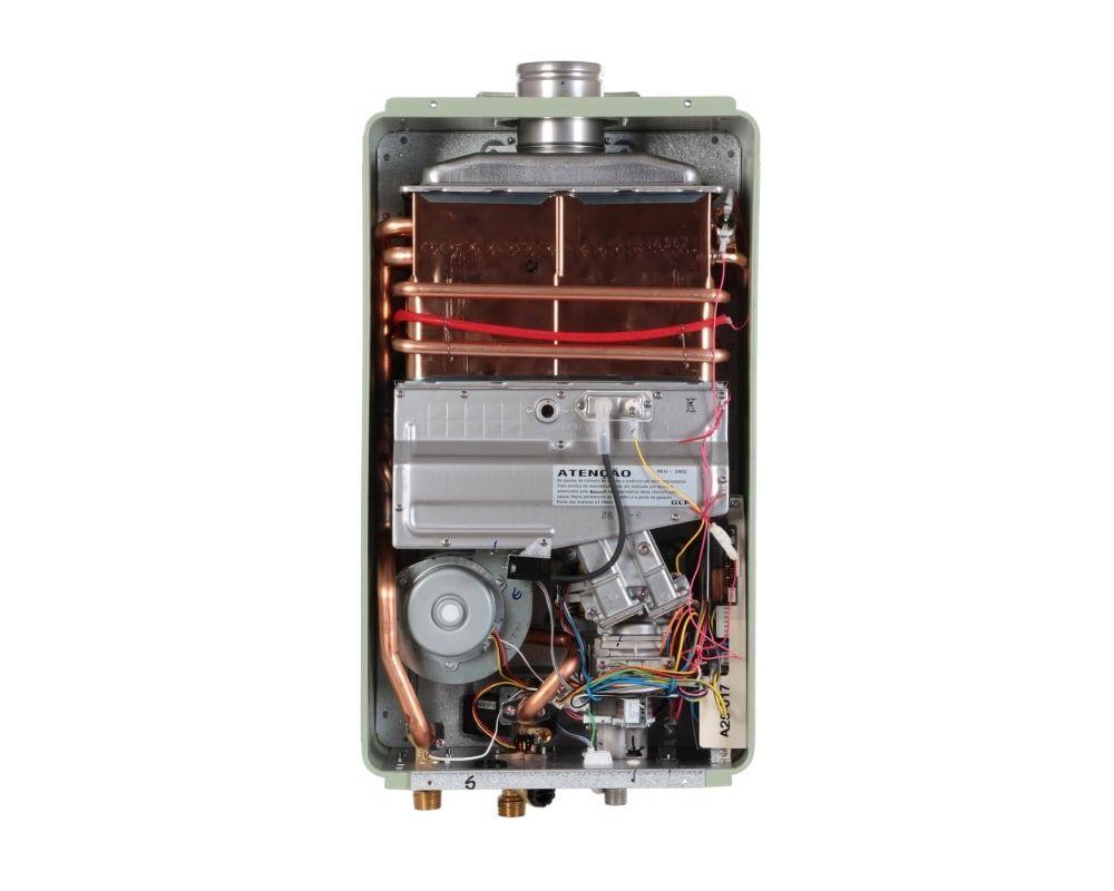 Aquecedor Rinnai Reu 2802 FEC Prata - 35 litros