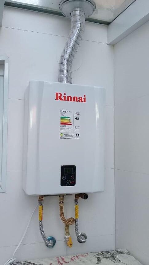 Rinnai e17 com instalação Grande São Paulo