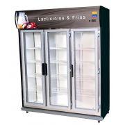 Expositor de frios, bebidas e laticínios 3 portas KLIMA - 220V
