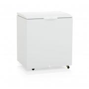 Freezer Refrigerador Horizontal GHBS 220 BR 1 Porta Sólida 219 Litros 220v Gelopar