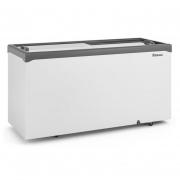 Freezer Refrigerador Horizontal GHDE 510-H CZ 2 Portas de Vidro 534 Litros 220v Gelopar