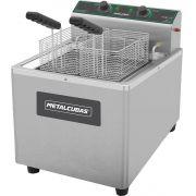 Fritadeira Elétrica Zona Fria de Óleo 15 Litros 8000W FOE 15 M 220v Metalcubas