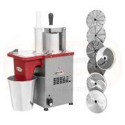 Multiprocessador de Alimentos PRAB 200 c/ 7 discos - Becker