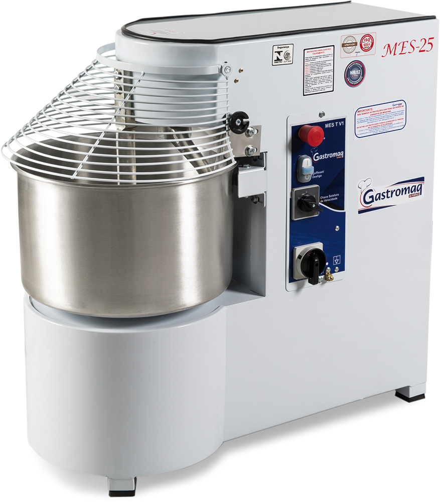 Amassadeira Espiral 25 kg MES 25 C/I Epóxi 2 Velocidade 220v Gastromaq