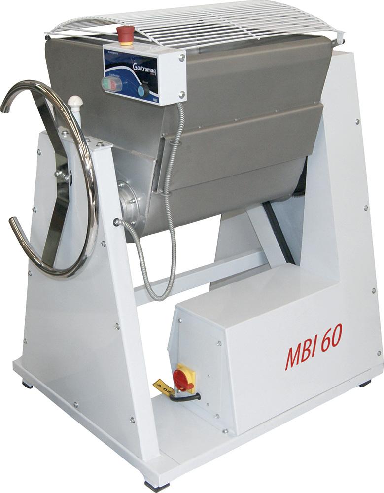 Amassadeira Semi Rápida 60 kg MBI 60 380v Gastromaq