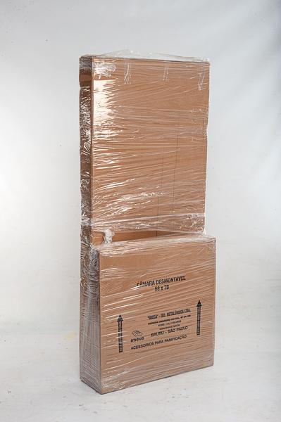 Armário de Crescimento Completo c/ 20 Assadeiras Lisas de Alumínio Desmontável Imeca