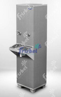 Bebedouro Industrial de Coluna Inox 25 Litros 220v Frisbel