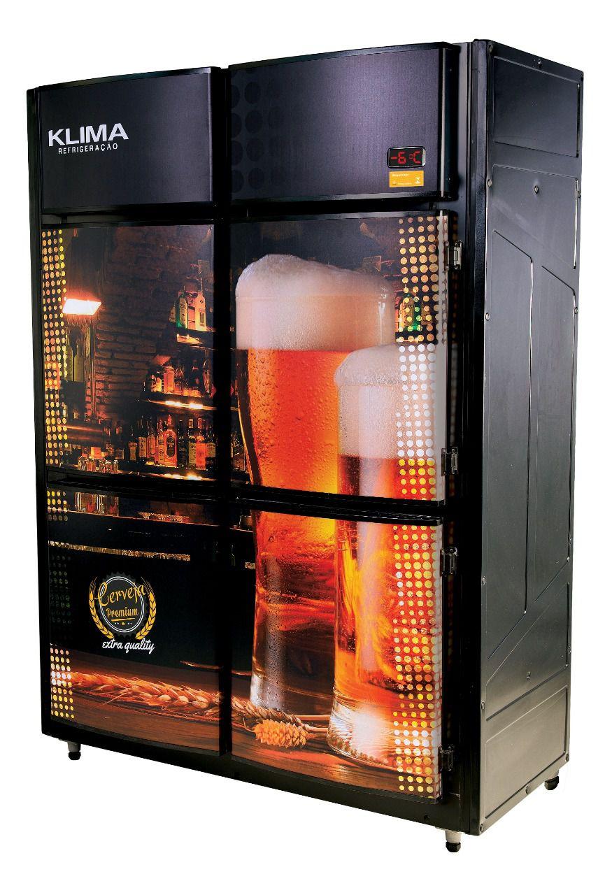 Mini Câmara Cervejeira 4 Portas 220v Klima