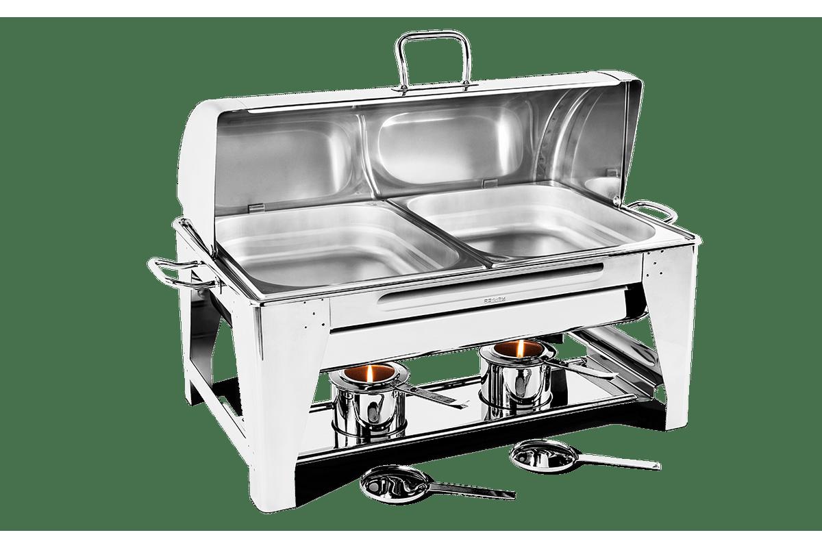 Chafing Dish Retangular 67x36 Savoy Brinox