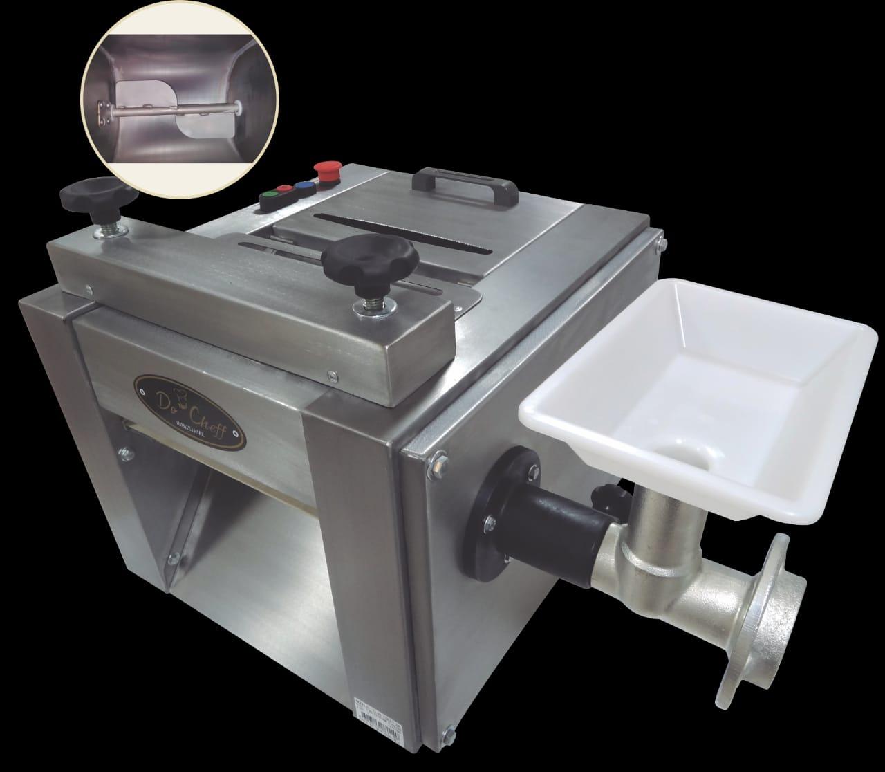Cilindro Extrusor Moedor e Misturador CL 46 Total Inox Bivolt Do Cheff