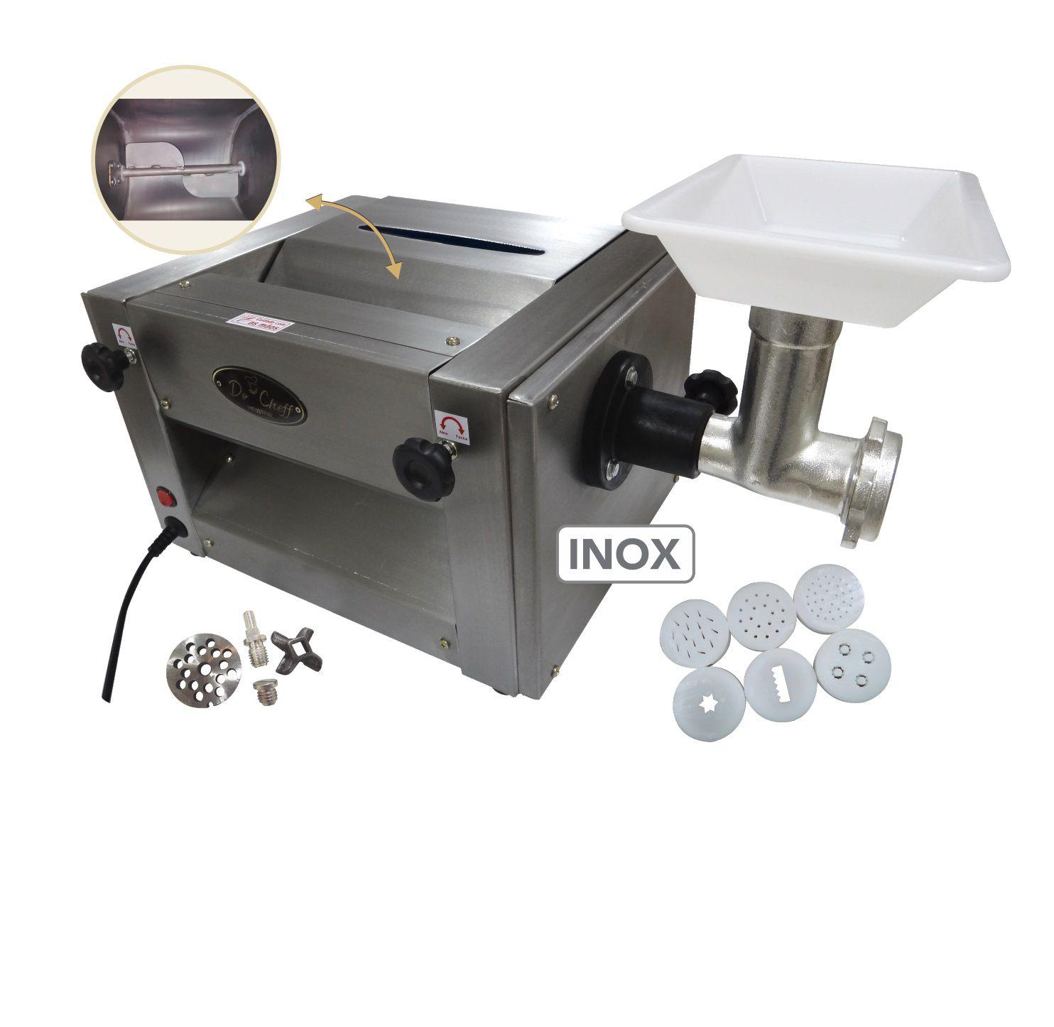 Cilindro Extrusor Moedor e Misturador Total Inox Do Cheff Cl 22