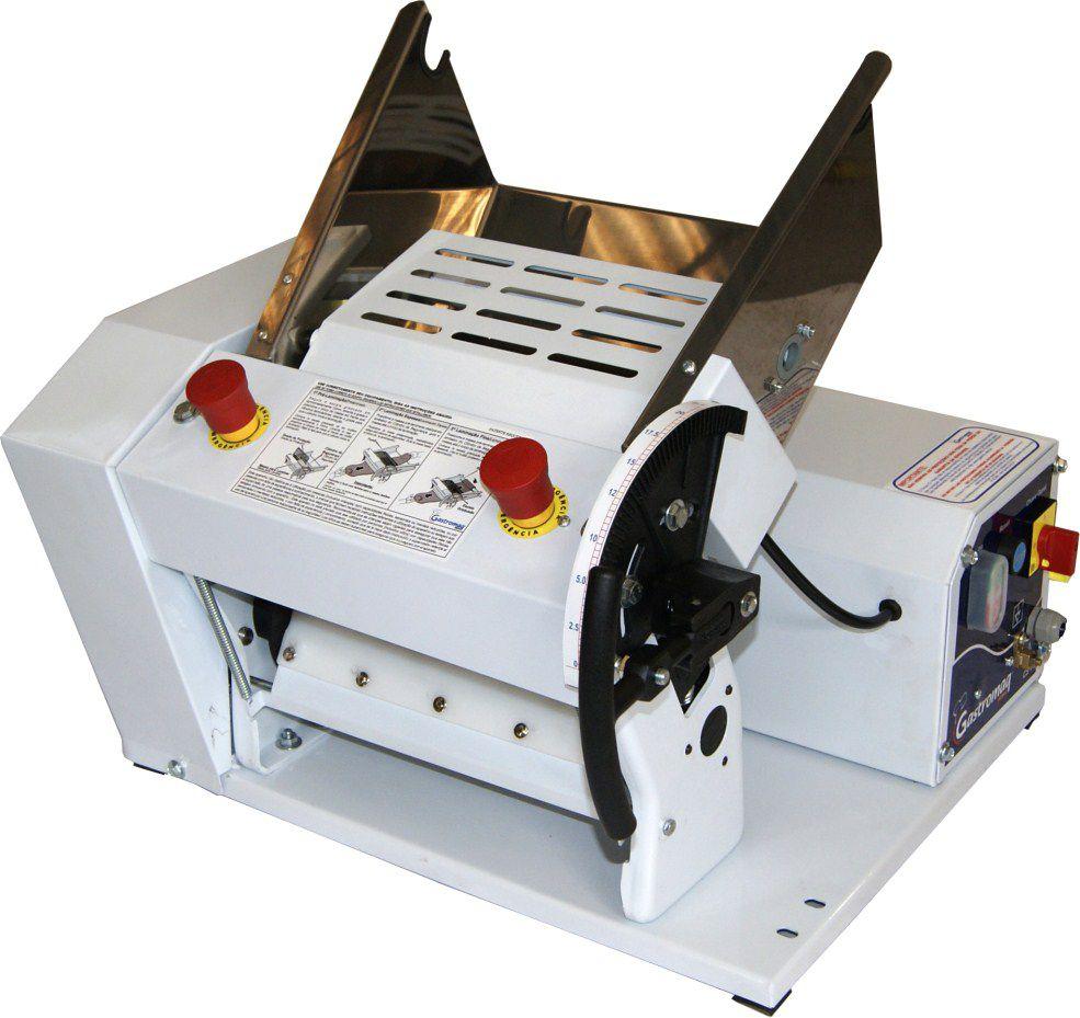 Cilindro Laminador Elétrico de Massas CLI 390 39cm 4kg Bandeja INOX Gastromaq