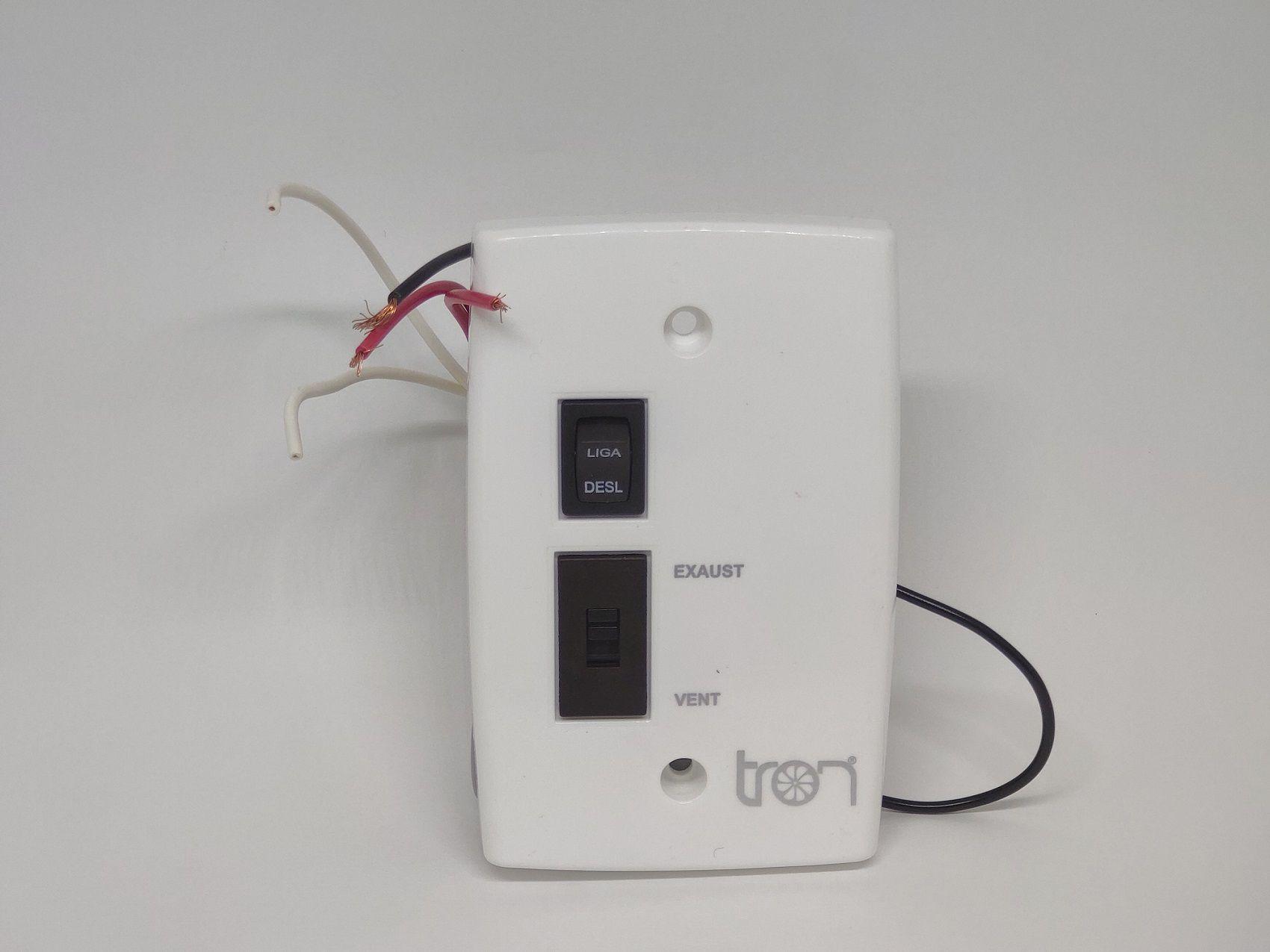 Controle Reversão Ventilador e Exaustor Axial 30/40 cm Bivolt Tron
