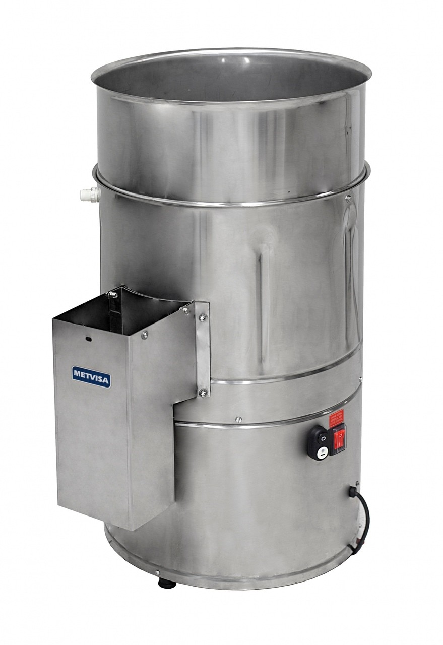 Descascador de Batata 10 kg DB 10 Inox 220v Metvisa