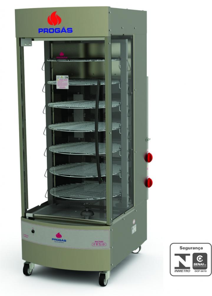 Forno Multiuso Giratório a Gás 70kg PRP-242 G4 Progás