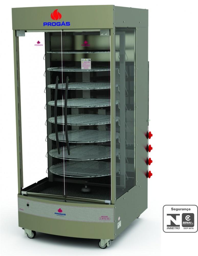 Forno Multiuso Giratório a Gás 128kg PRP-482 G4 Progás