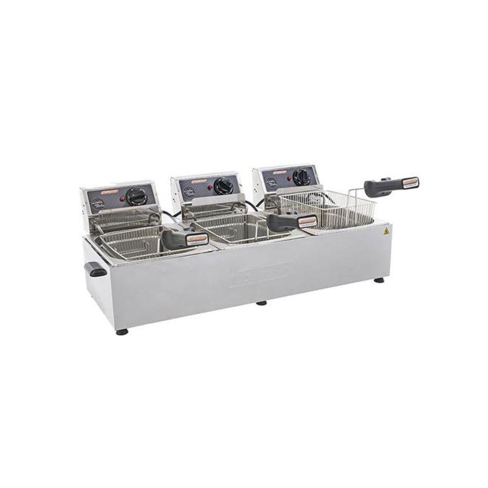 Fritadeira Profissional Turbo 3 Cubas 5L 220v Cotherm