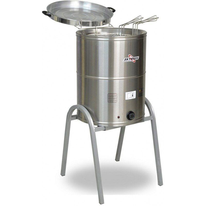 Fritadeira Água e Óleo 24 Litros Inox Elétrica - Skymsen