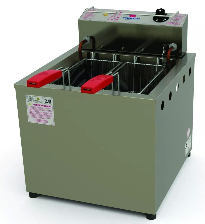 Fritadeira Água e Óleo Elétrico 13 Litros PR-100E 220v Progás