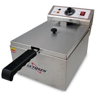 Fritadeira Elétrica 1 Cuba Óleo 05 Litros FE 10 Inox 110v Skymsen
