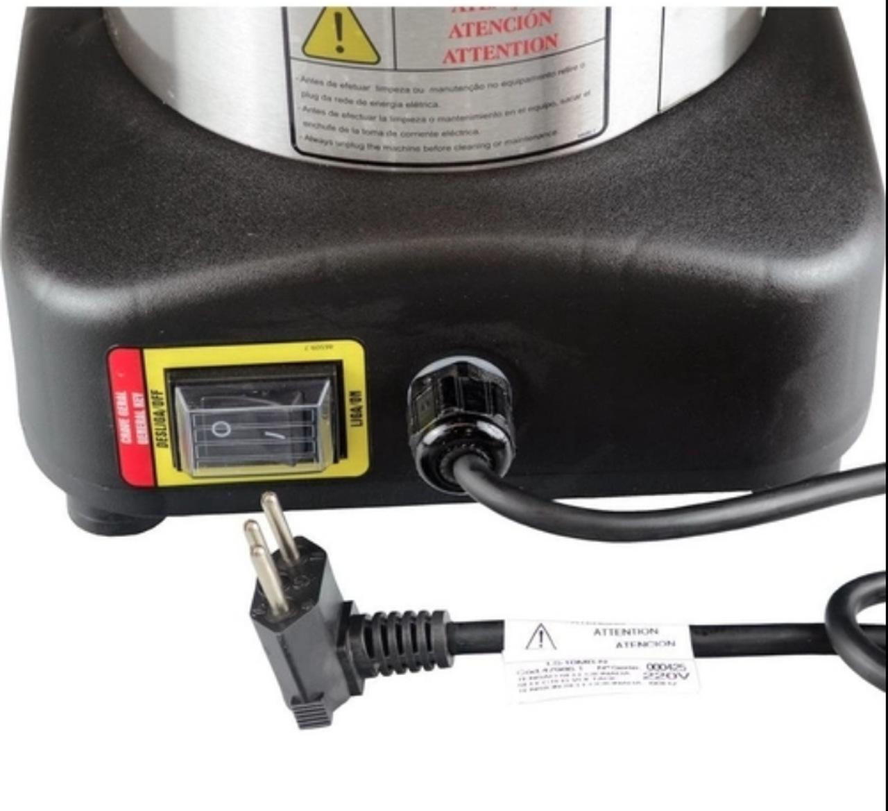 Liquidificador Industrial 10 Litros LS 10 Baixa Rotação 110v Skymsen