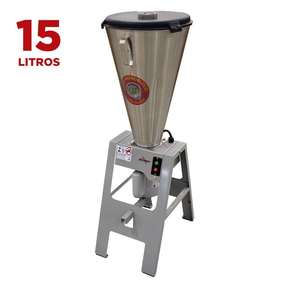 Liquidificador Industrial Basculante 15 litros Copo Inox Skymsen  LB-15MB 220V