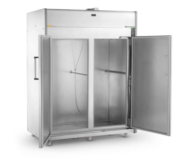 Mini Câmara 2 Portas Com Gancho MCP1800 Plus Inox 220v Refrimate