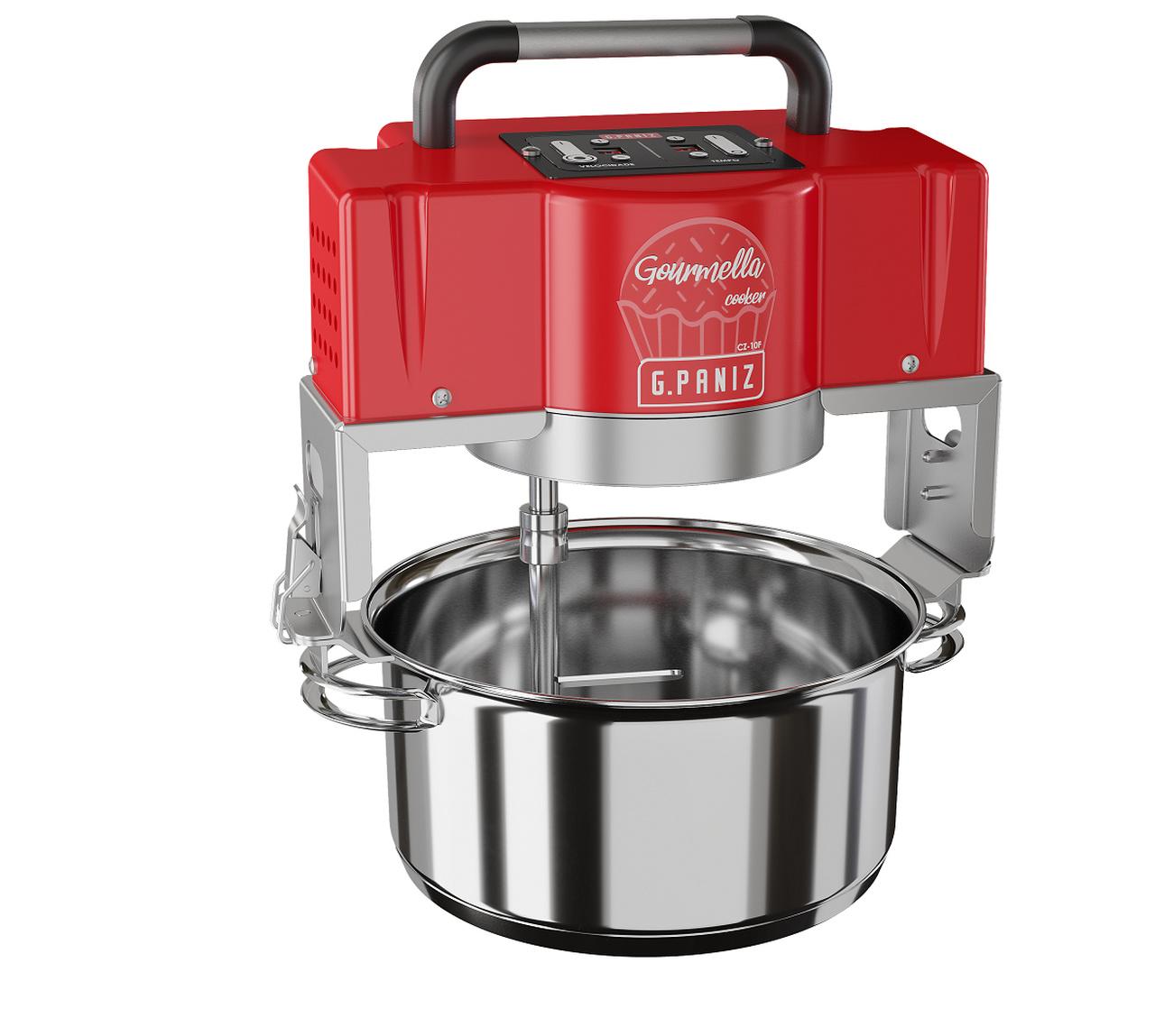 Misturador Industrial Gourmella Cooker CZ 10 F Panela em Inox 220v G Paniz