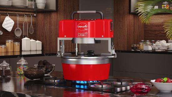 Misturador Industrial Gourmella Cooker CZ 10 F Panela de Alumínio 220v G Paniz
