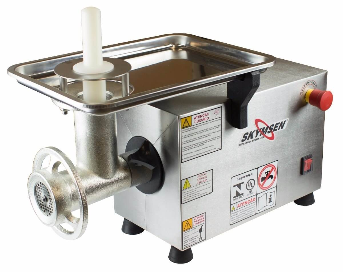Picador de Carne Inox Boca 22  PS 22 SKYMSEN 220V