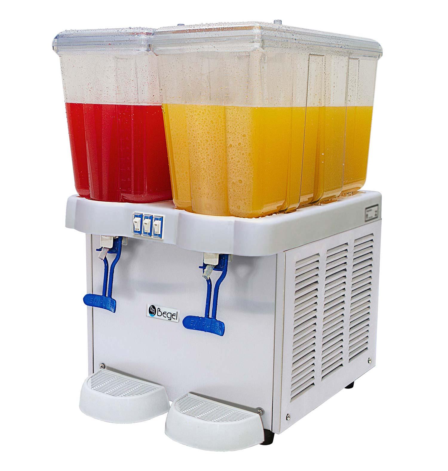 Refresqueira 32 Litros Juice Plus 2 Cubas 220v Begel