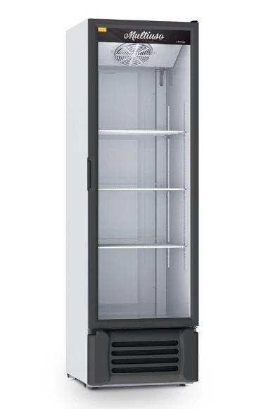 Refrigerador Expositor Multiuso 400 Litros Porta de Vidro VCM400 220v Refrimate