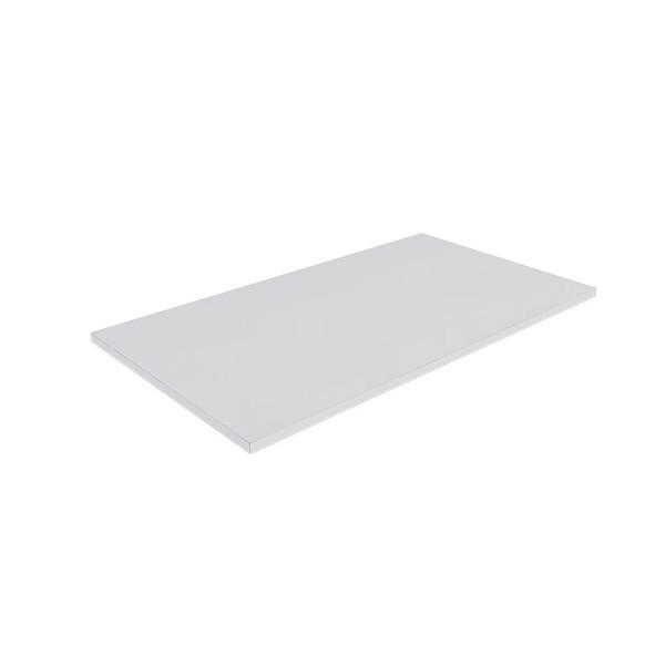 Tábua de Corte Profissional em Polipropileno 25 x 45 cm Branco Malta