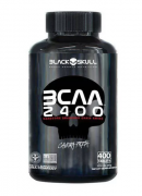 Bcaa 2400 400 Cápsulas - Black Skull