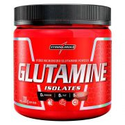 GLUTAMINE ISOLATES 300G - INTEGRAL MÉDICA