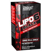 Lipo 6 Black Ultra Concentrado 60 Cáps Importado - Nutrex