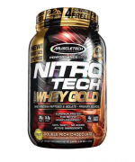 Nitro Tech 100% Whey Gold 1 kg - Vanilla Funnel Cake