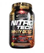 Nitro Tech 100% Whey Gold 1 kg - Vanilla Funnel Cake