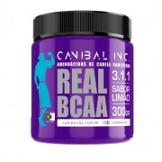 REAL BCAA - SABOR LIMÃO 300G - Canibal Inc.
