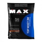 TOP WHEY 3W 1,8kg  SABOR CHOCOLATE - MAX TITANIUM