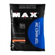 TOP WHEY 3W 1,8kg  SABOR VITAMINA DE FRUTAS - MAX TITANIUM