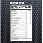 ULTRA MEN - Multivitamínico (180 Tabs) - Zapdos Sports