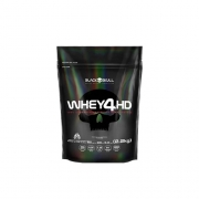 Whey 4HD Refil 2,2Kg Black Skull - Sabor Morango