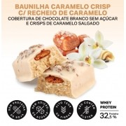 WHEYDOP BAR DISPLAY 480G 12 BARRAS DE 40G BAUNILHA CARAMELIZADA