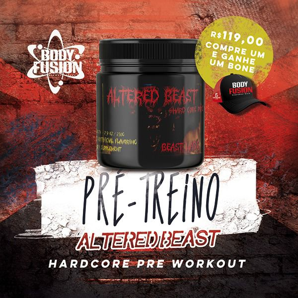 ALTERED BEAST HARDCORE PRÉ WORKOUT 230G - BEAST LABS