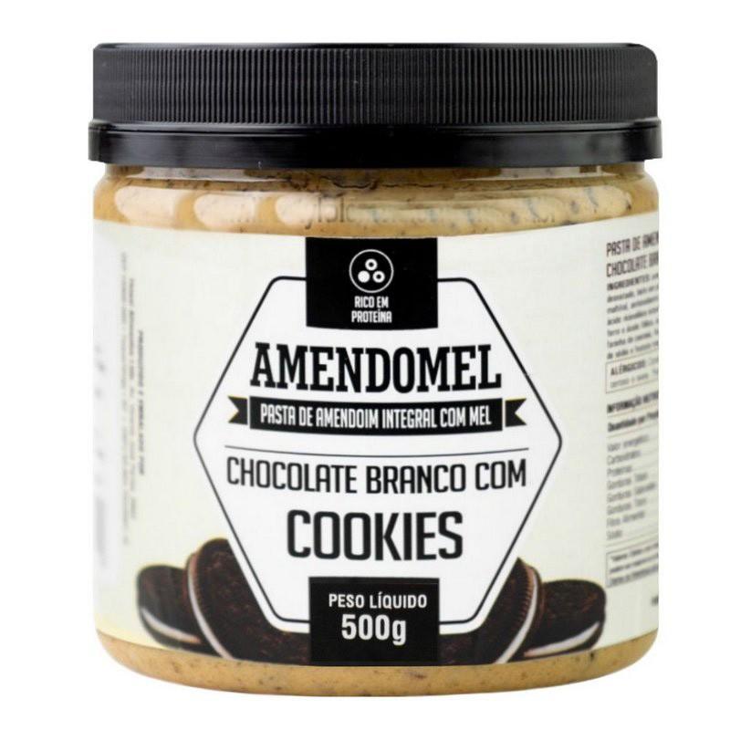 AMENDOMEL 1010G CHOCOLATE BRANCO COM COOKIES  - THIANI