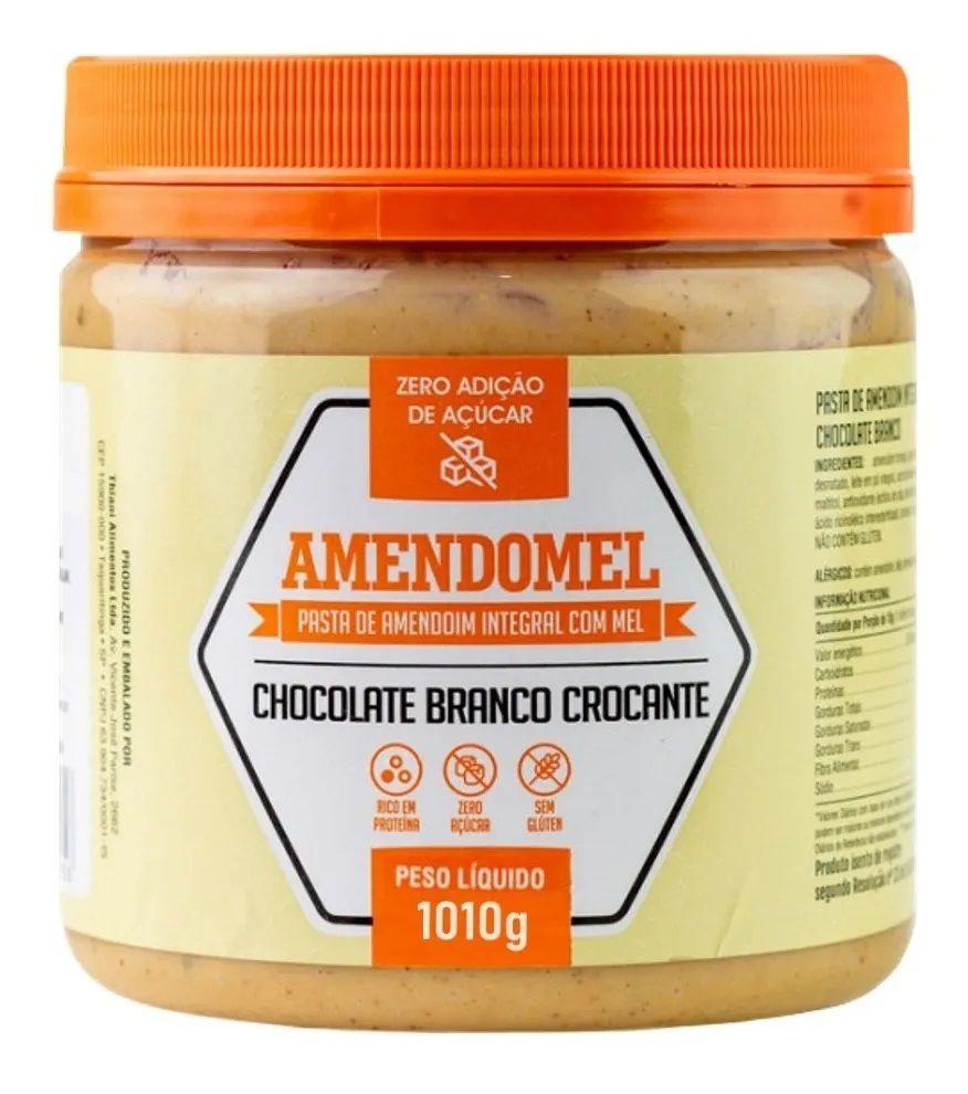 AMENDOMEL 1010G CHOCOLATE BRANCO CROCANTE - THIANI