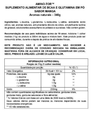 AMINO-TOR SYNTRAX STRAWBERRY KIWI (30 DOSES) - 340G