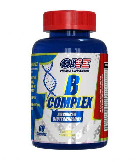 B COMPLEX 60 CÁPSULAS - ONE PHARMA