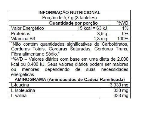BCAA AMINO HD 10:1:1 60 TABLETES - ATLHETICA NUTRITION